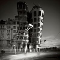 dancing house by BelcyrPiotr