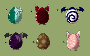 Egg Batch #3 by BunsDream