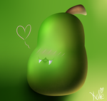 This Creepy Pear Thing I Swear to God... by KATEtheDeath1