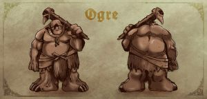 Concept Art: Ogre by klaatu81