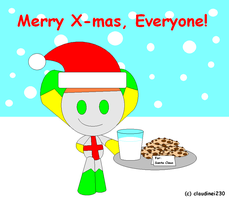 Cookies and Milk for Santa? by claudinei230