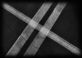 white lines by awjay