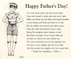 Father's Day for those of us with 'daddy issues.' by Daphnesecretgarden