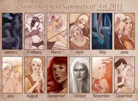 2011 Summary of Art by sionra