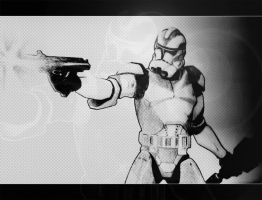 clone trooper by rickkhunter