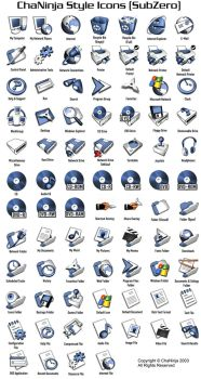 ChaNinjaStyle-SubZero Icons by chaninja