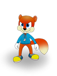 Conker The Squirrel by EllieYo