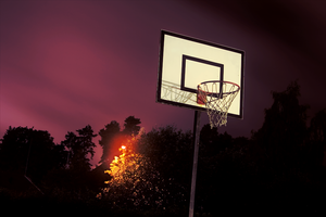 Hoop in the dark by TeebZTB