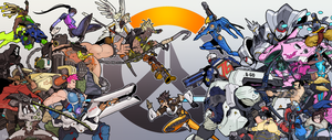 overwatch (fanart) by ninjakimm