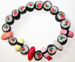 Misc. - sushi bracelet NEW by ShiversTheNinja