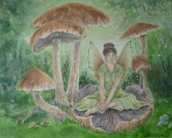 The Woodland Fae. by SueMArt