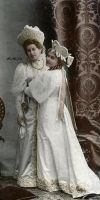 Anna and Alexandra in 1903 by Linnea-Rose