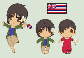 Hetalia OC - Hawaii by Karma-Maple