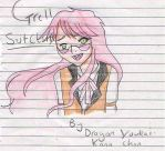 Grell on paper by DragonYoukaiKanaChan