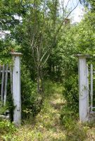 Old Garden Fence Entrance 005 by poeticthnkr