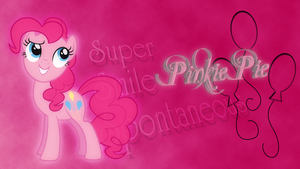 Pinkie Pie - Super Smile Spontaneous by EmbersAtDawn