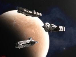 Stellar Navy Cruisers by ILJackson