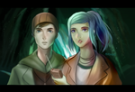 Oxenfree - Jonas and Alex by pershun