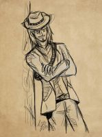 The name's Marston...( cowboy) by cherrysflower14
