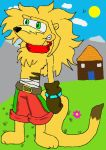 Franky Thylacine home nature by Ty-the-Tasmanian-tig