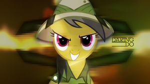 Daring Do - Light Adventures (Wallpaper) by AdrianImpalaMata