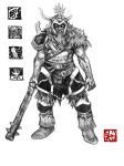 Barbarian Wraith King by Enu-kamesama