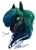 Sage - Bust Commission by Empyrisan by SEMC