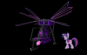 Twi's Flying Machine by deathaura40s