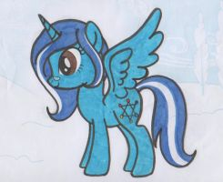 :MLP FIM: Me as a pony by HannahTheArtistic