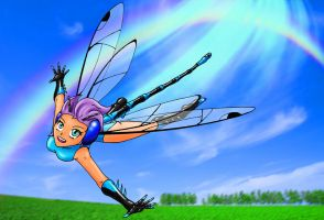 Bluebell the Dragonfly by Aprion