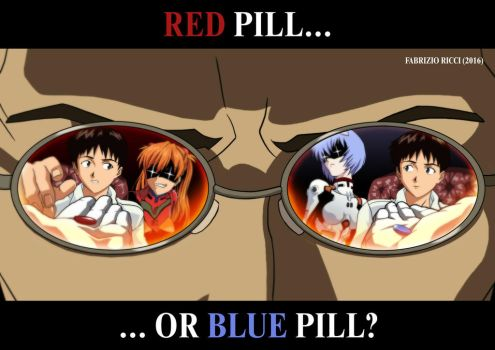 Red pill or Blue pill? by LazarusClortho