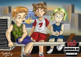 The Kids of the  No World Order. by Tahkyn