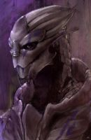 Turian Painted by Elle-H