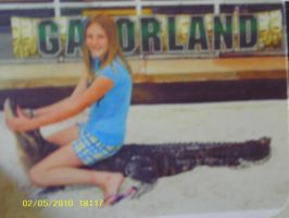 Me on a Gator by aquaheartthecat