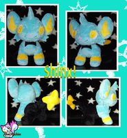 Minky Shinx :Sold: by Ami-Plushies