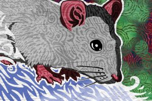 Rat Illustration by The-Monstrum