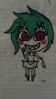 Vent? creepiest thing ive ever drawn (in my views) by mangaismything2