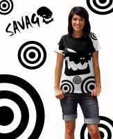 Savage tshirt 6 by tasteless-designs