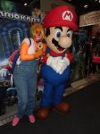 Me and Mario MCM Comic Con May 2014 by MeglifKaddy