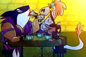 .: Drinking Contest :. by DarkwingSnark