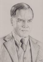 Michael Shannon - 'Boardwalk Empire' by M1kole