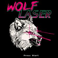 Wolf Laser by HillaryWhiteRabbit