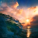 Ocean sunset by Vitaly-Sokol