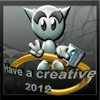 Have a creative 2012 by M10tje