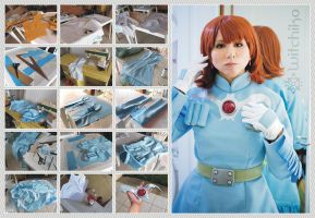 Nausicaa's Cosplay Process III by Witchiko