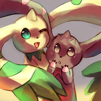 Terriermon n Lopmon by Cherkivi
