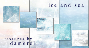 ice and sea by damerel