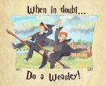 What Would Weasleys Do? by wovenlines