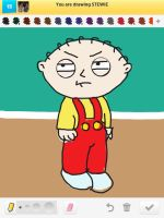 Draw Something: Stewie by AskGriff