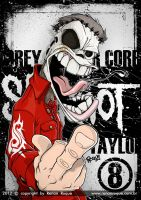 Corey Taylor (Slipknot) by RoqueRenan